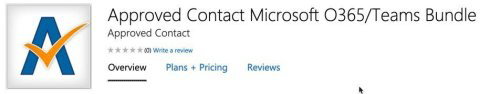 Approved Contact calendar bot now on Microsoft AppSource
